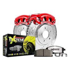 For Honda Civic 90-00 Brake Kit Power Stop 1-Click Street Warrior Z26 Drilled &