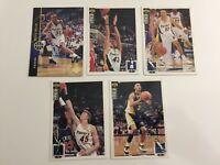 Upper Deck NBA Trading Cards Sammelkarten 5x Indiana Pacers 94