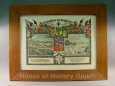 109417, Gedenkblatt des Weltkrieges 1914 1918, Fußartillerie Regiment 4, FAR 4