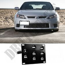 FOR SCION TC 11-13 FRONT LICENSE PLATE TOW HOOK MOUNTING BRACKET KIT RELOCATION