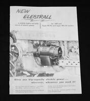 IH Farmall Mccormick International Electrall Tractor Generator Brochure 400 SMTA