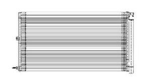 A/C Condenser TYC 3618
