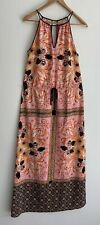 CLOVER CANYON stunning Printed Maxi Dress Size S 8 10 AU
