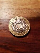 2015 £ 2 moneda de dos libras de tecnología de pie sobre los hombros de los Gigantes