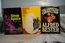 lot vtg old Sci-Fi EARLY DEL REY DEEP SPACE THE COMPUTER CONNECTION LUNAR LAND