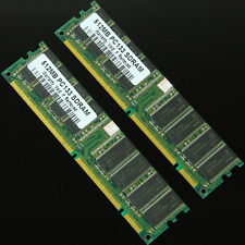 NEW 1GB 2 X 512MB PC133 133MHZ 168pin SDRAM DIMM Non-ECC Desktop Memory 1G RAM