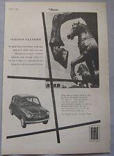 1956 Fiat 600 Original advert No.1