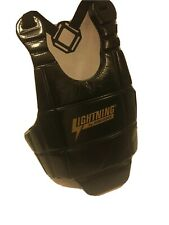 Proforce Lightning Sparring Chest Protector Martial Arts Gear Body Guard Black