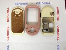 COVER NOKIA ORIGINALE -7370-7373- 3 pezzi rosa