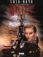 LUIS ROYO MALEFIC ORIGINAL JUN 1997 1ST EDITION HARDCOVER BRAND NEW RARE OOP
