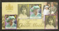 Bermuda 2002 Queen Mother SG889-890 & MS891 MNH