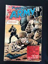 FIGHTIN' ARMY #82 CHARLTON COMICS 1968 VG+