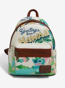 Disney ✗ Loungefly Lilo & Stitch Greetings From Hawaii Mini Backpack