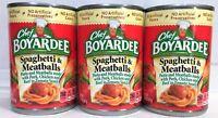 Chef Boyardee Spaghetti and Meatballs in Tomato Sauce 14.5 oz  ( 3 Cans )