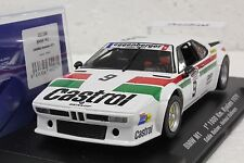 FLY 051106 BMW M1 1ST PLACE 1000KM KYALAMI '79 NEW 1/32 SLOT CAR IN DISPLAY CASE