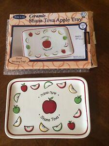 Shana Tova - Ceramic Plate. New In Package. Rosh Hashana Item