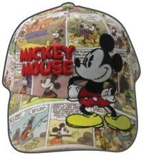 Disney Mickey Mouse Old Comic Prints Adult Baseball Cap