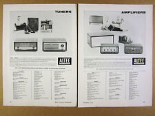 1956 Altec Lansing Amplifiers Tuners Preamps Speaker Systems vintage print Ad