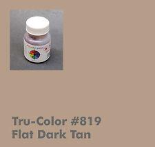 819 Tru-Color Paint Flat Dark Tan