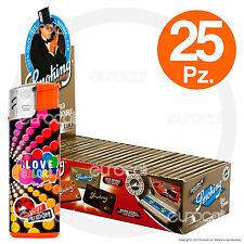 Cartine SMOKING ORO CORTE DOPPIE gold scatola 25 pz