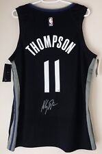 Klay Thompson Signed Warriors Autographed NBA Nike City Swingman Jersey FANATICS