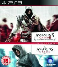 Assassin's Creed 1 & 2 (Paquete Doble) (PS3) (Nuevo)