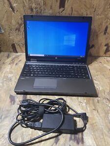 """HP ProBook 6560b 15.6"""" Intel Core i5-2520M 2.5GHz 4GB RAM 320GB HDD Win 10 A584"""