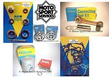 Suzuki RM 125 00 Mitaka Engine Rebuild Kit Rod Piston B Mains Gasket Seal Kit