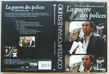 LA GUERRE DES POLICES DVD Claude Brasseur Claude Rich Marlène Jobert TRES RARE !