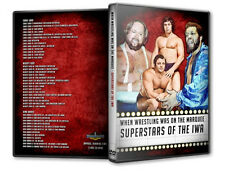 Pro Wrestling Superstars of IWA DVD, Ernie Ladd, Dino Bravo, NWA WWWF Gino Brito