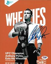 Anthony Pettis Signed UFC 8x10 Photo PSA/DNA COA Wheaties Box Picture Autograph