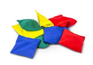 Bohnensäckchen für Übungen in Sport, Spiel und Therapie - Wurfsäckchen - Kissen