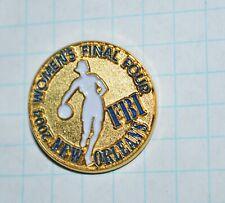 "FBI NEW ORLEANS LOUISIANA 2004 WOMEN'S FINAL FOUR BASKETBALL 1"" LAPEL PIN"