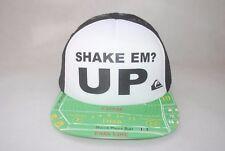 New Quiksilver Men's Mcgavin Trucker cap snapback Adjustable Mesh Back hat OSFM