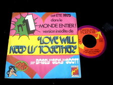 "BASEY SEXY SCOTT/LOVE WILL KEEP US TOGETHER/DISQUES FLECHE/CLAUDE FRANCOIS 7"" SP"