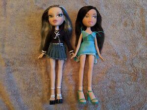 Bratz Bundle of Jade Dolls - Rock Angelz and Nighty Nite GREAT Condition