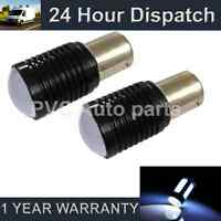 2X 207 1156 BA15s CANBUS ERROR FREE WHITE CREE LED NUMBER PLATE BULBS NP202602