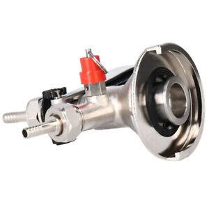 Keg Tap Beer Coupler With Relief Valve For Home