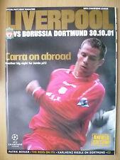 2001 UEFA Champions League- LIVERPOOL v BORUSSIA DORTMUND