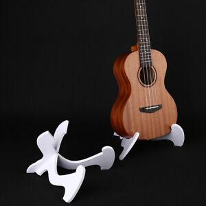 Foldable Ukulele Stand Hardwood Guitar Bass Violin Mandolin Banjo Holder_Q;I4
