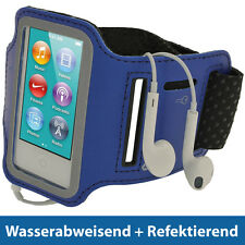Blau Anti-Rutsch Sports Armband für Apple iPod Nano 7. Generation 16GB 7G