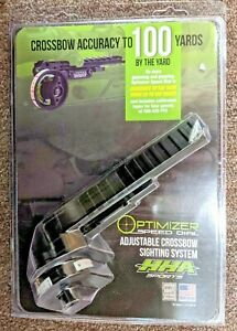 *NEW* HHA Optimizer Speed Dial Adjustable Crossbow Sighting System