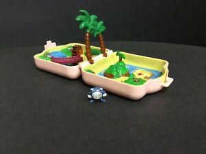 Pre-owned 1997 Tomy Nintendo Pokemon Polly Pocket Seafoam Islands Playset