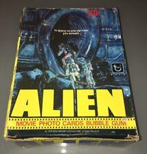1979 Alien Movie Trading Card Wax Box 36 Unopened Packs