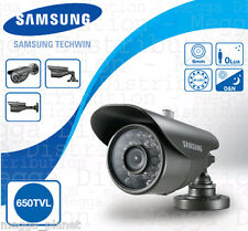 Samsung 650TVL High Resolution IP166 Indoor/Outdoor Security CCTV Bullet Camera
