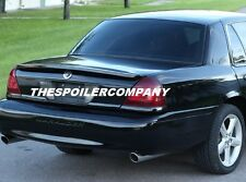 FOR Mercury Marauder Primered / Un-painted Factory Style Rear Spoiler Wing 2003+