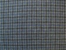 80% Wool Small Check Tweed Fabric 2.4 metre