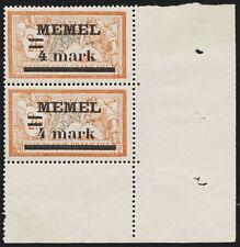 MEMEL, MiNr. 31 I y PF I a, tadellos postfrisch, Befund Huylmans, Mi. 180,-