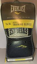 Everlast advanced pro style training gloves 16 oz Black and White