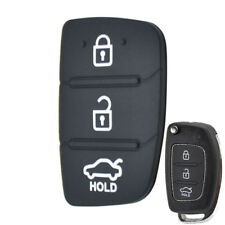 Replacement Rubber Pad Remote Key Cover For Hyundai Tucson ix35 Elantra I20